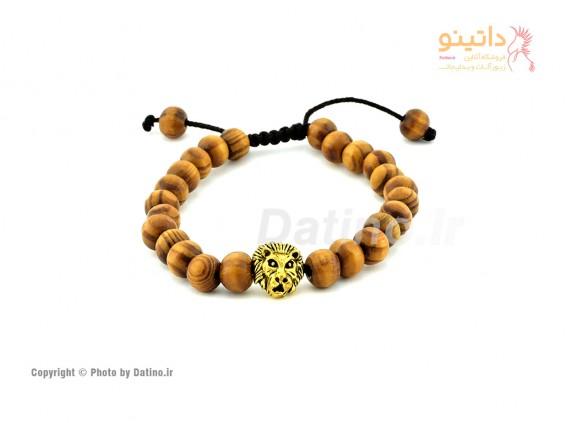 عکس دستبند مردانه شیر طلایی-zarrin-b-14 - انواع مدل دستبند مردانه شیر طلایی-zarrin-b-14