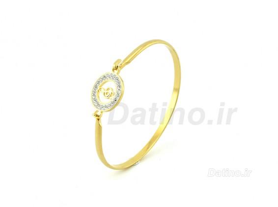 عکس دستبند زنانه استیل کلید موسیقی-Zarrin.B.21 - انواع مدل دستبند زنانه استیل کلید موسیقی-Zarrin.B.21