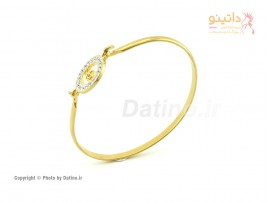 دستبند زنانه استیل کلید موسیقی-Zarrin.B.21