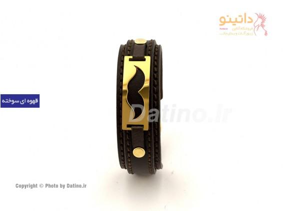 عکس دستبند چرم سبیل-zarrin-b-25 - انواع مدل دستبند چرم سبیل-zarrin-b-25