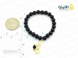 دستبند زنانه طرح سنگ پلاک عشق-zarrin-b-33
