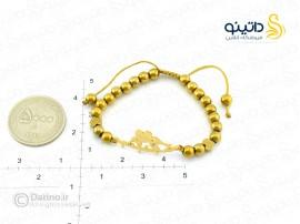 دستبند زنانه استیل مرغ عشق-zarrin-b-34