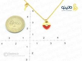 دستبند زنانه قلب دوتیکه-Zarrin-n-50
