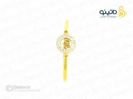 دستبند زنانه استیل تاج ملکه zarrin-b-62