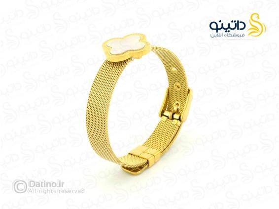 عکس دستبند زنانه بولگاری قفل ساعتی zarrin-b-77 - انواع مدل دستبند زنانه بولگاری قفل ساعتی zarrin-b-77