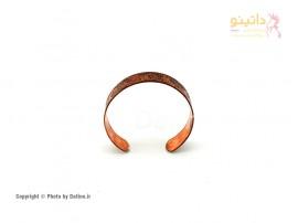 دستبند زنانه مسی طرح کهن-Zarrin-B-9