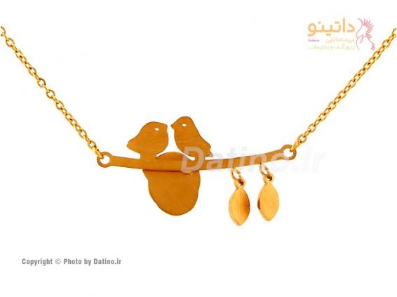 عکس گردنبند زنانه لانه مرغ آمین-Zarrin.N.14 - انواع مدل گردنبند زنانه لانه مرغ آمین-Zarrin.N.14