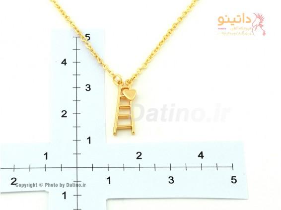 عکس گردنبند زنانه نردبان عشق-Zarrin.N.30 - انواع مدل گردنبند زنانه نردبان عشق-Zarrin.N.30