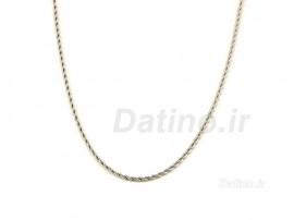زنجیر استیل طنابی-Zarrin.N.38