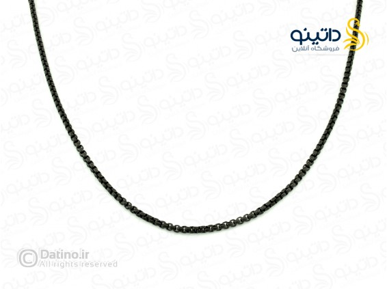 عکس زنجیر استیل جعبه ای گرد-Zarrin.N.40 - انواع مدل زنجیر استیل جعبه ای گرد-Zarrin.N.40