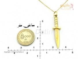 گردنبند مردانه چاقوی کماندویی-zarrin-n-66