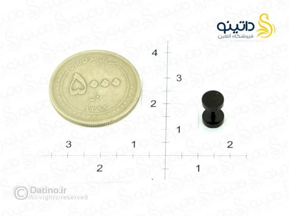 عکس پیرسینگ گوش مشکی مات-Zarrin.P.13 - انواع مدل پیرسینگ گوش مشکی مات-Zarrin.P.13