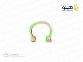 پیرسینگ بینی و گوش رنگی ساده zarrin-p-40