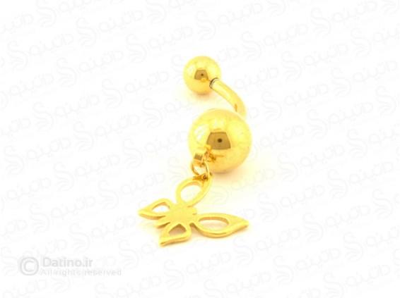 عکس پیرسینگ زنانه ناف پروانه zarrin-p-78 - انواع مدل پیرسینگ زنانه ناف پروانه zarrin-p-78