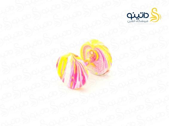 عکس پیرسینگ رنگی گوش طرح آبنباتی zarrin-p-82 - انواع مدل پیرسینگ رنگی گوش طرح آبنباتی zarrin-p-82