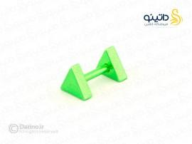 پیرسینگ رنگی گوش مثلثی zarrin-p-84