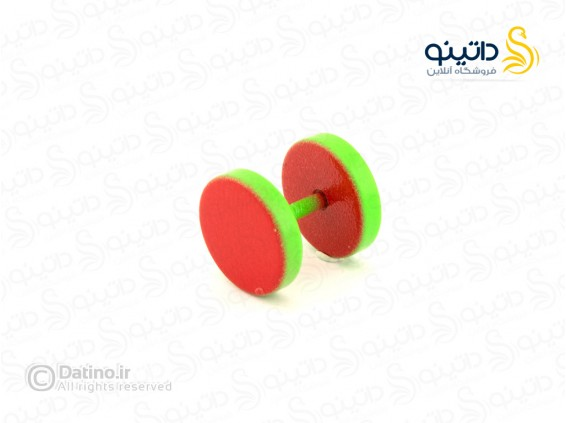 عکس پیرسینگ رنگی گوش طرح آبنباتی بزرگ zarrin-p-85 - انواع مدل پیرسینگ رنگی گوش طرح آبنباتی بزرگ zarrin-p-85