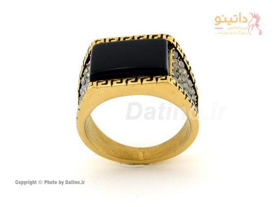 عکس انگشتر مردانه سنتی داشاد-Zarrin.R.10 - انواع مدل انگشتر مردانه سنتی داشاد-Zarrin.R.10