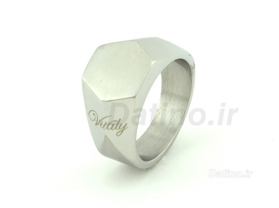 عکس انگشتر مردانه ویتالی داماریو-Zarrin.R.12 - انواع مدل انگشتر مردانه ویتالی داماریو-Zarrin.R.12