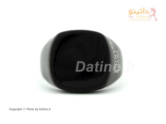 عکس انگشتر مردانه مشکی مات-Zarrin.R.19 - انواع مدل انگشتر مردانه مشکی مات-Zarrin.R.19