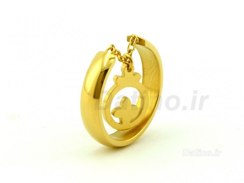 عکس انگشتر زنانه انار آویز-Zarrin.R.21 - انواع مدل انگشتر زنانه انار آویز-Zarrin.R.21