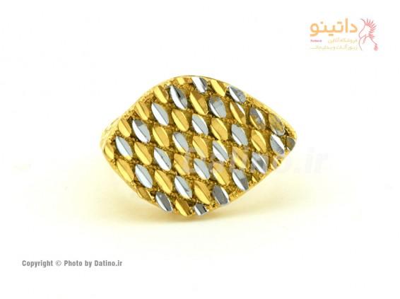 عکس انگشتر زنانه طرح طلای کورونا-Zarrin.R.24 - مدل انگشتر زنانه طرح طلای کورونا-Zarrin.R.24