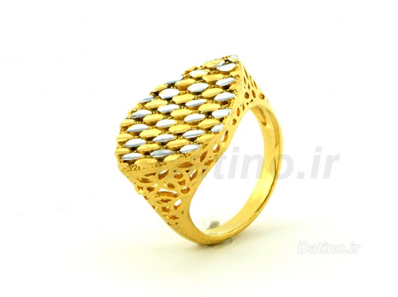 عکس انگشتر زنانه طرح طلای کورونا-Zarrin.R.24 - انواع مدل انگشتر زنانه طرح طلای کورونا-Zarrin.R.24