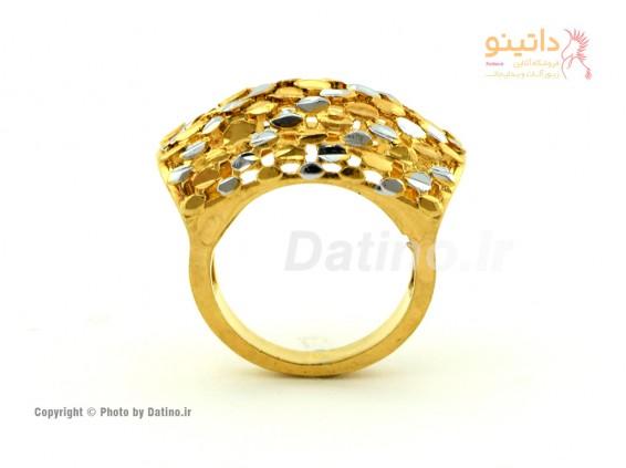 انگشتر زنانه طرح طلای اسکارلت-Zarrin.R.25
