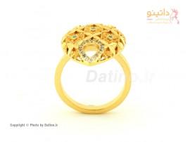 انگشتر زنانه طرح طلای دیانتا-Zarrin.R.26