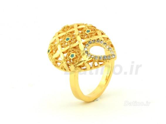 عکس انگشتر زنانه طرح طلای دیانتا-Zarrin.R.26 - انواع مدل انگشتر زنانه طرح طلای دیانتا-Zarrin.R.26