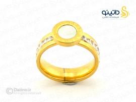 انگشتر زنانه استیل بولگاری-zarrin-r-37