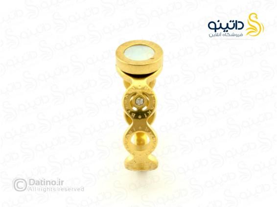 عکس انگشتر زنانه بولگاری-zarrin-r-45 - انواع مدل انگشتر زنانه بولگاری-zarrin-r-45