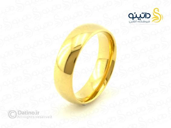 عکس حلقه ساده ازدواج هاگرید zarrin-r-46 - انواع مدل حلقه ساده ازدواج هاگرید zarrin-r-46