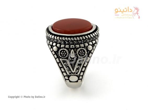 عکس انگشتر مردانه طرح سنتی برسام-Zarrin.R.7 - انواع مدل انگشتر مردانه طرح سنتی برسام-Zarrin.R.7