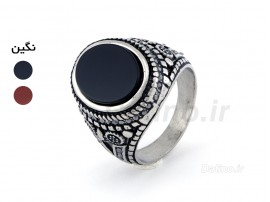 انگشتر مردانه طرح سنتی برسام-Zarrin.R.7