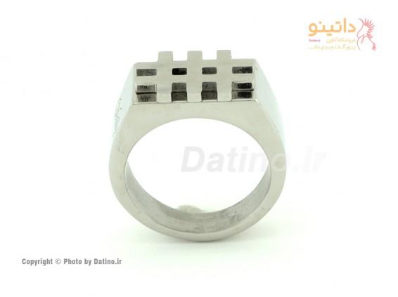 انگشتر مردانه ویتالی هشتگ-Zarrin.R.9