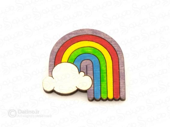 عکس پیکسل چوبی رنگین کمان Zarrin-pin-18 - انواع مدل پیکسل چوبی رنگین کمان Zarrin-pin-18