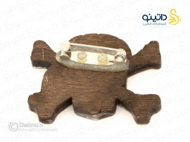 پیکسل چوبی جمجمه دزدان دریایی Zarrin-pin-7