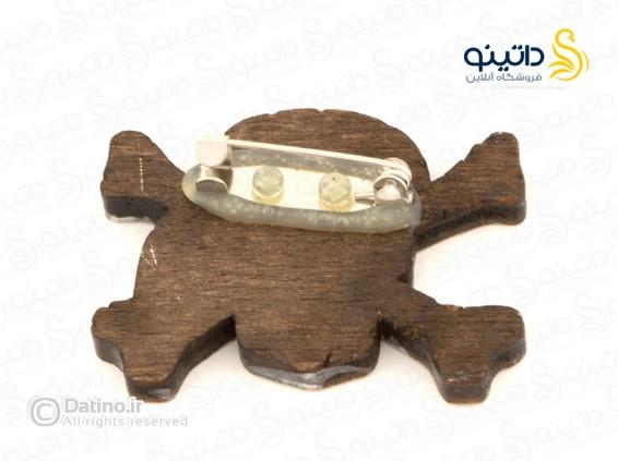 عکس پیکسل چوبی جمجمه دزدان دریایی Zarrin-pin-7 - انواع مدل پیکسل چوبی جمجمه دزدان دریایی Zarrin-pin-7