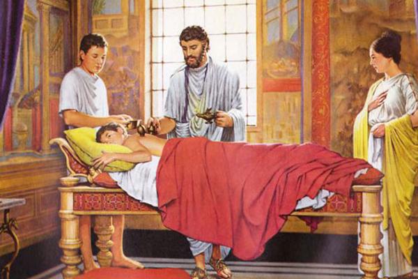 تاریخچه سنگ درمانی