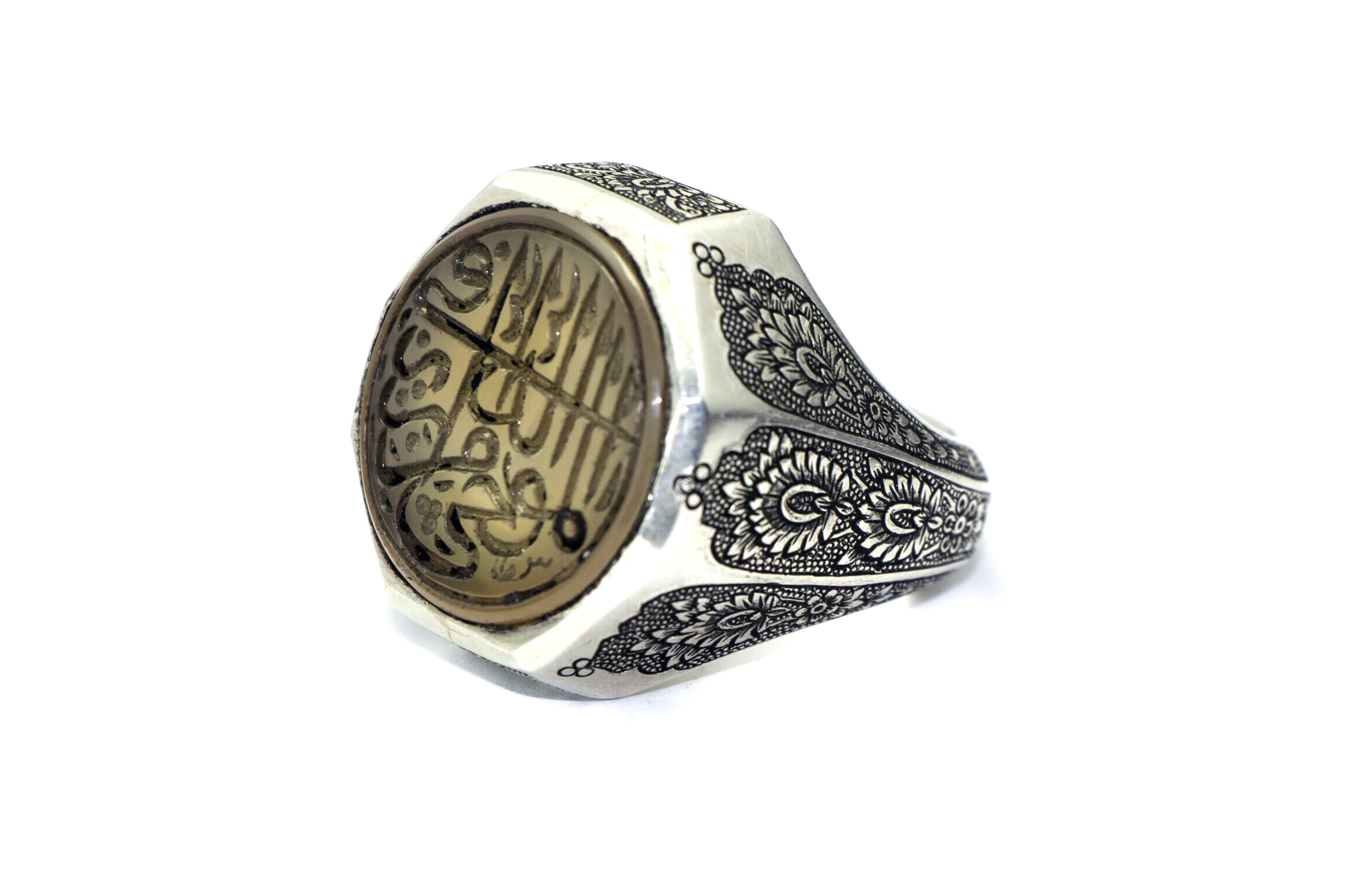 نقوش انگشتری حضرت محمد (ص)
